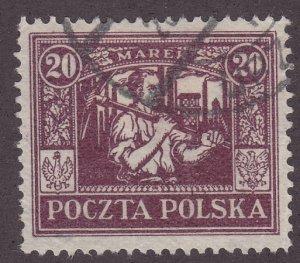 Poland 184 Miner  1922