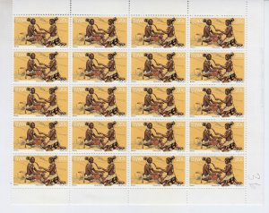 South West Africa - #405 - 1977 - MNH - Sheet of 20 stamps - CV$16.00