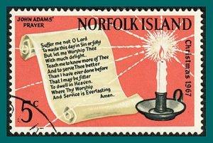Norfolk Island 1967 Christmas, used  #115,SG92