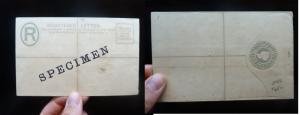 Leeward Islands 1891 RLE Specimen, closed (32bej)