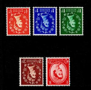 SG515Wi-519bWi, COMPLETE SET, NH MINT. Cat £38. WMK INV