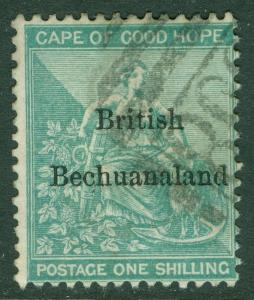 BECHUANALAND : 1886. Stanley Gibbons #8 Very Fine Used with nice color Cat ­£170