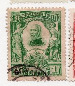 Haiti 1904 Early Issue Fine Used 1c. 073440