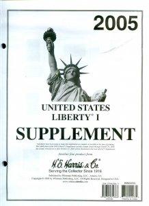 Lot of 4 U.S. H.E. Harris Liberty I Supplements Range 2005 - 2011 #140069 X