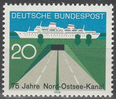 Germany #1021 MNH F-VF (V2778)