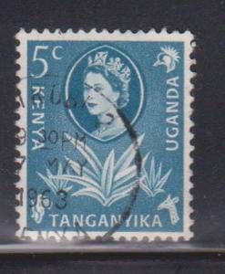 KENYA UGANDA & TANGANYIKA Scott # 120 Used - QEII Definitive