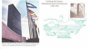 1999 International Architecture Style (Scott 3186k) Mystic Pictorial