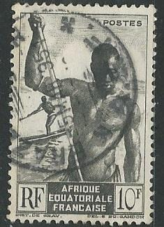 French Equatorial Africa  + Scott # 181 - Used