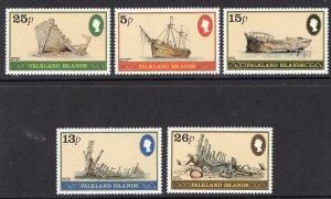 FALKLAND ISLANDS SCOTT 339-343