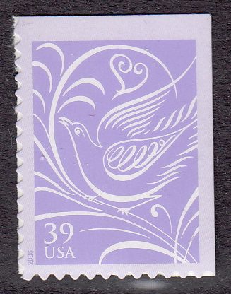 United States #3998 Wedding Dove Booklet, Please see the description