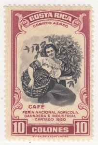 Costa Rica, Sc C210, MVLH, 1950, Agriculture & Industry