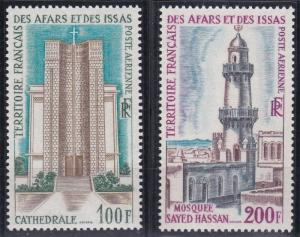 Afars and Issas C54-C55 MNH (1969)