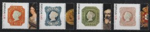 Portugal 2003 150th Anniversary of the 1st Portuguese stamps (4/4) MNH