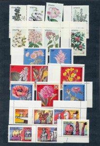 Scotland Staffa Eynhallow Flowers Chess Ships MNH+Blocks (25+)(NT224