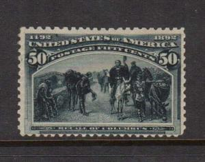 USA #240 NH Mint