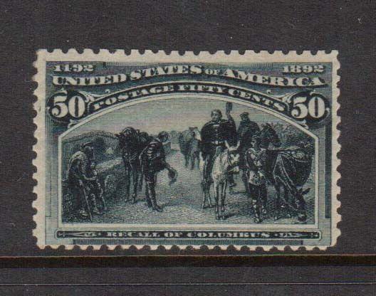 USA #240 NH Mint