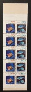Palau 1985 #76b Booklet, Marine Life, MNH.