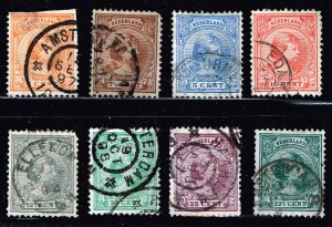 NETHERLANDS STAMP USED STAMPS COLLECTON LOT #2