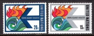 UN New York 308-309 MNH VF