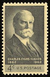 1195 Charles Evans Hughes F-VF MNH single