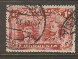 Rhodesia #102 Used