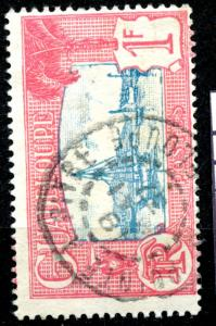 GUADELOUPE, yr.1928-1940: HARBOR SCENE, #119  ,U