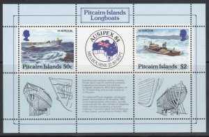 PITCAIRN ISLANDS SC#248 AUSIPEX 84 S/S (1984) MNH