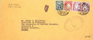 Ireland 1d Map, 4d Coat of Arms and 6d Sword of Light (2) 1964 Baile Atha Cli...