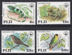 FIJI ^^^^sc# 397-400  MNH set ( BIRDS +  Wildlife)  $$@ ta 1390 fiji