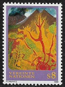UN, Vienna #249 MNH Stamp - Volcanic Landscape
