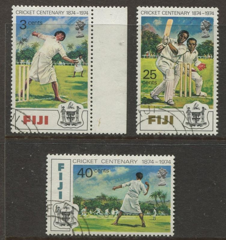 Fiji - Scott 344-346 - General Issue 1974 - VFU - Set of 3 Stamps
