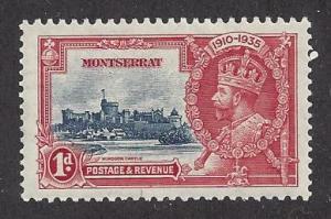 Montserrat  Scott # 85     Mint