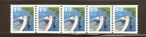 USA PNC- SC# 2529 BOAT 19c. PL# A6667 WATER ACTIVATED MNH PNC5