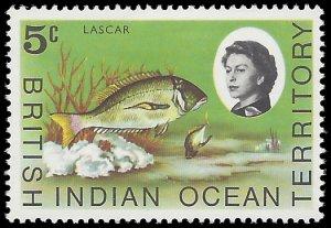British Indian Ocean Territory 1968 #16 Mint NH