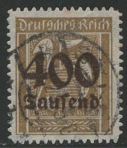 Germany Reich Scott # 274, used, exp h/s