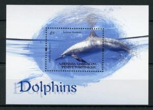 Grenada Grenadines 2013 MNH Dolphins Spinner Dolphin 1v S/S Stamps