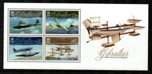 Gibraltar #1243  MNH  Scott $16.00   Souvenir Sheet