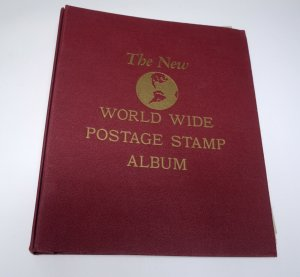 The New World Wide Postage Stamp Album BINDER for Postage Cover Collection