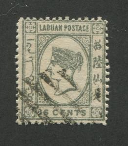 LABUAN #38 USED F/VF *FORGERY*