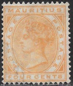 Mauritius 71 Used - Victoria