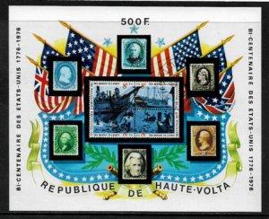 Burkina Faso #358 MNH S/Sheet - American Bicentennial