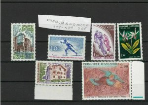 French Andorra Mint Never Hinged Stamps  ref R 16364