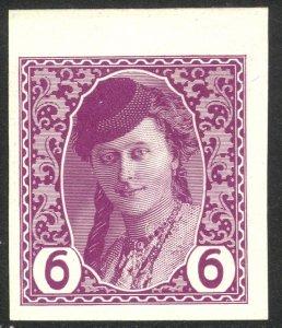 BOSNIA AND HERZEGOVINA 1913 6h THICK PAPER Newspaper Stamp Sc P2 Mi.86y  MNH