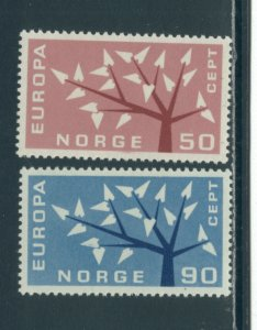 Norway 414-5  MNH cgs