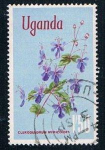 Uganda flower - pickastamp (UP22R403)
