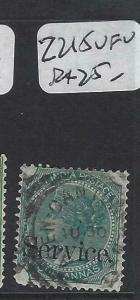 ADEN INDIA USED IN FORERUNNERS  (PP2604B)  QV 4A  SERVICE  SG 215   VFU