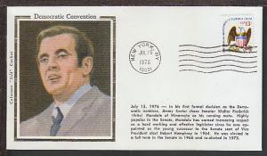Democratic National Convention 1976 Colorano Cover