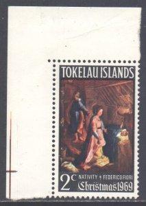 Tokelau Scott 20 - SG20, 1969 Christmas 2c MNH**