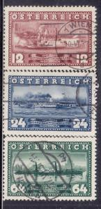 Austria #382-384 Used  Set