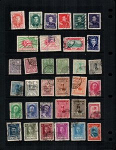 Iran  34 diff  mint hinged and used